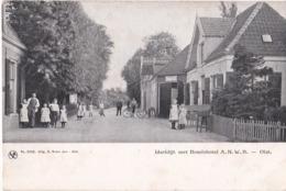 OLST 1914 IJSSELDIJK MET HOTEL EN VEEL VOLK - MOOIE ANIMATIE - Pays-Bas