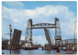 Netherlands - Rotterdam - Ship - Bridge - Rotterdam