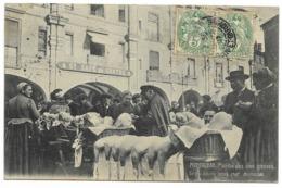 82-MONTAUBAN-Marché Des Oies Grasses...1907  Animé - Montauban