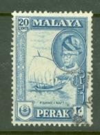 Malaya - Perak: 1957/61   Sultan Yussuf 'Izzuddin Shah - Pictorial   SG157    20c    Used - Perak