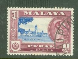 Malaya - Perak: 1957/61   Sultan Yussuf 'Izzuddin Shah - Pictorial   SG159    $1   Used - Perak