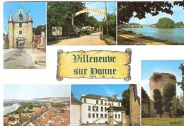 CPSM DE VILLENEUVE SUR YONNE - Villeneuve-sur-Yonne