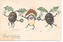 Champignon, Funghi, Pilze, Mushroom, Toadstool, Dancing Vegetables, Playing Cards, Card Game - Autres