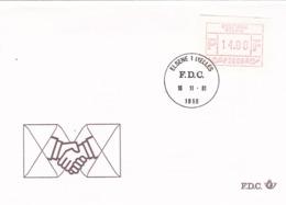 BUSTA F.D.C. - BELGIO -  ELSENE  - BRUXELLES - FDC