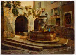 SAINT-PAUL Et Sa Vieille Fontaine, 1962 Used Postcard [23567] - Saint-Paul