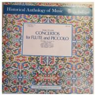 * LP *  VIVALDI: CONCERTOS FOR FLUTE AND PICCOLO (England 1976 EX!!!) - Classical