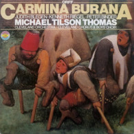 * LP *  ORFF: CARMINA BURANA - MICHAEL TILSON THOMAS / CLEVELAND ORCHESTRA (Germany 1974 EX!!) - Classical