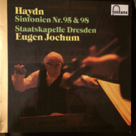 * LP *  HAYDN: SINFONIEN Nr. 95 & 98 - STAATSKAPELLE DRESDEN / EUGEN JOCHUM - Klassiekers