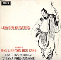 * LP *  MAHLER - DAS LIED VON DER ERDE - VIENNA PHILHARMONIC / LEONARD BERNSTEIN - Klassiekers