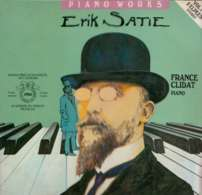 * 2LP *  ERIK SATIE: PIANO WORKS - FRANCE CLIDAT (Holland 1980 EX!!!) - Klassik