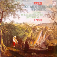 * LP *  VIVALDI - ACHT WERKE FÜR STREICHER UND CONTINUO - I MUSICI - Klassiekers