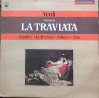 * LP *  VERDI - EXTRAITS DE LA TRIVIATA, RIGOLETTO, LE TROUVÈRE, NABUCCO, AÏDA - Klassiekers