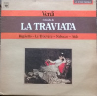 * LP *  VERDI - EXTRAITS DE LA TRIVIATA, RIGOLETTO, LE TROUVÈRE, NABUCCO, AÏDA - Classical