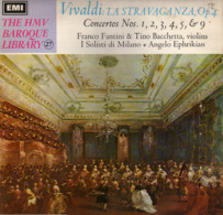 * LP *  VIVALDI -LA STRAVAGANZA, Op.4 - Klassiekers