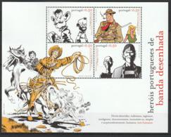 PORTUGAL - BLOC N°210 ** (2004) Bandes Dessinées - Blocchi & Foglietti