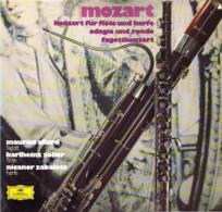 * LP *  MOZART: KONZERT FÜR FLÖTE UND HARFE / ADAGIO UND RONDO / FAGOTTKONZERT - Classical