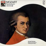 * LP *  MOZART: PIANOCONCERTEN Nr. 22 In Es, Nr. 23 In A - ANNIE FISCHER / PHILHARMONIA ORCHESTRA - Klassiekers