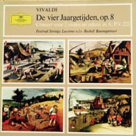 * LP *  DE VIER JAARGETIJDEN, Op.8 / CONCERT VOOR 2 VIOLEN EN ORKEST In A - FESTIVAL STRINGS LUCERNE - Klassiekers