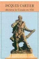 Cpsm   -   Statue De   Jacques Cartier Découvre Le Canad En 1534    V735 - Otras Celebridades