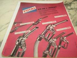 ANCIENNE PUBLICITE VA DE L AVANT SUPER TOTAL 1961 - Other