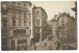 LAUSANNE-Rue Haldimand...1915  Animé  Hôtel-Restaurant Du COMMERCE... - VD Vaud