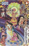 Malaysia (Uniphonekad) - Deepavali 93, 59MSAA, 1993, 250.000ex, Used - Maleisië