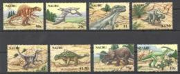 A473 2006 NAURU PREHISTORIC ANIMALS DINOSAURS #638-45 1SET !!! MICHEL 15 EURO !!! MNH - Sellos