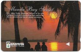 Philippines - Eastern Telecoms (GPT) - Manila Bay Sunset - 242PETA - 9.000ex, Used - Filippine
