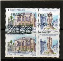 FRANCE    2 Timbres Se Tenant  1,05 € + Vignettes    2019    Y&T: 5332   Oblitérés - Frankreich