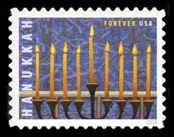 Etats-Unis / United States (Scott No.5153 - HANUKKAH) (o) - Gebruikt