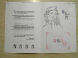 """"""" MARIANNE ET LA JEUNESSE 2013 """" Sur Document Philatélique Officiel 1er Jour De 4 Pages - 2010-...."""