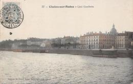 71 - Chalon-sur-Saône - Quai Gambetta Et St-Pierre - Chalon Sur Saone