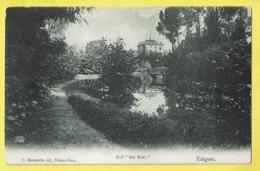 * Edegem - Edeghem (Antwerpen - Anvers) * (G. Bongartz, éd, Vieux Dieu) Hof Ter Elst, Parc, Chateau, Unique, Zeldzaam - Edegem