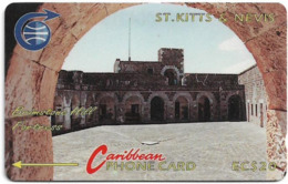 St. Kitts & Nevis - Brimstone Hill Fort 2 - 3CSKC - 1990, 11.728ex, Used - St. Kitts En Nevis