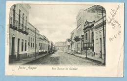 BA0299  CPA   Bilhete Postal  Brazil  PORTO ALEGRE  -  Rua Duque De Caxias  1904   ++++++++ - Porto Alegre