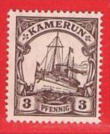 MiNr. 20 Xx  Deutschland Deutsche Kolonie Kamerun - Kolonie: Kamerun