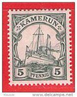 MiNr. 21 Xx  Deutschland Deutsche Kolonie Kamerun - Kolonie: Kamerun