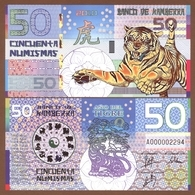 KAMBERRA 50 Numismas 2010 Polymer UNC. Year Of The Tiger - Banknoten