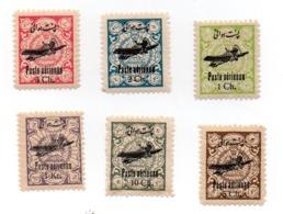 IRAN 1928-29 Air Mail  Y&T 22-27 MNH - Iran