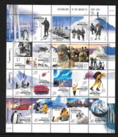 AUSTRALIE Territoire Antarctique 2001 - Yvert 125/44 - Expedition Manchot Helicoptere - Neuf ** Qualité Philatélique - Unused Stamps