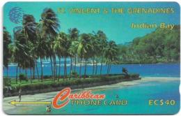 St. Vincent & Grenadines - Indian Bay, 142CSVA, 1997, 20.000ex, Used - St. Vincent & Die Grenadinen