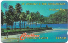 St. Vincent & Grenadines - Indian Bay, 142CSVA, 1997, 20.000ex, Used - St. Vincent & The Grenadines