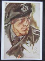 Postkarte Propaganda HDK Panzermann - Deutschland