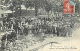 36 LA CHATRE  Concours Agricole Exposition Des Machines Et Outils Agricoles      2scans - La Chatre