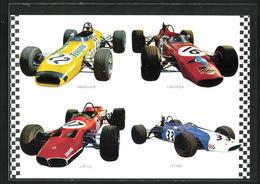AK Rennautos Von Tecno, Brabham Und Chevron - Non Classés