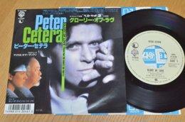 Peter Cetera 45t Vinyle Glory Of Love BO Du Film Karate Kid II Japon - Musica Di Film