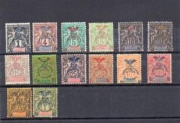 NOUVELLE CALEDONIE   -    NEUF X -   -  Y Et T  N° 67 à 80  - MANQUE LE 68 - Neukaledonien