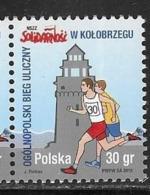 POLAND, 2019, MNH,SPORTS, RUNNING, NATIONAL STREET RUN IN KOLOBRZEG, 1v - Other
