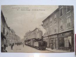 Saint Peray Arrivée Du Tramway Numero 27 - Saint Péray