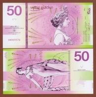 NETHERLANDS 50 Gulden 2019 Polymer UNC. Legends Of The World - MATA HARI - Banknoten
